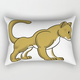 Cougar Rectangular Pillow