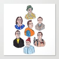 murray Canvas Prints featuring Murray by scoobtoobins