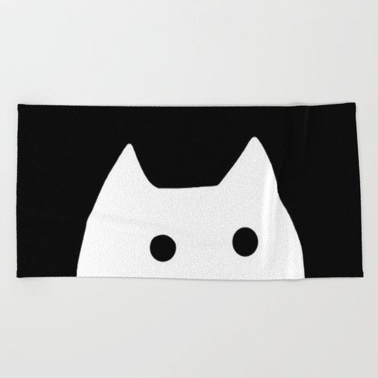 cat-7 Beach Towel