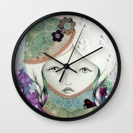 """Alone"" Wall Clock"