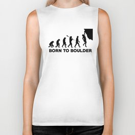 Born To Be Boulder Biker Tank