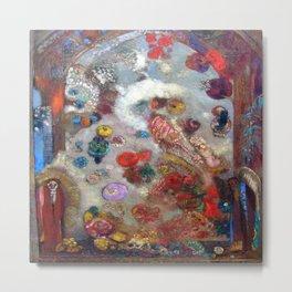Odilon Redon The Window Metal Print