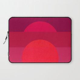 Abstraction_Sunset_001 Laptop Sleeve