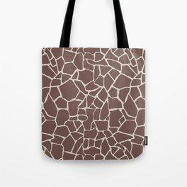 Brown Elephant Tote Bag