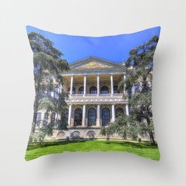 Dolmabahce Palace Istanbul Throw Pillow