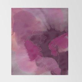 Purple Rain Throw Blanket