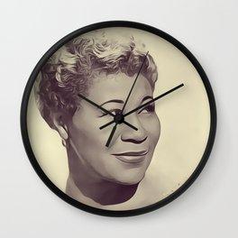 Ella Fitzgerald Wall Clock