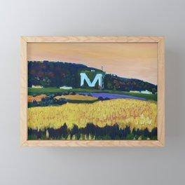 Platte Mound Framed Mini Art Print