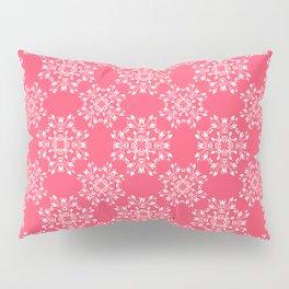 Pink Lace Pillow Sham