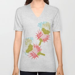 Pure flower Unisex V-Neck