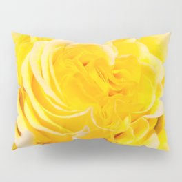 A Touch of Yellow #Rose #1 #art #society6 Pillow Sham
