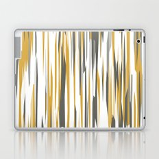 Gold gray and white Laptop & iPad Skin