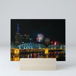 Nashville New Year Mini Art Print