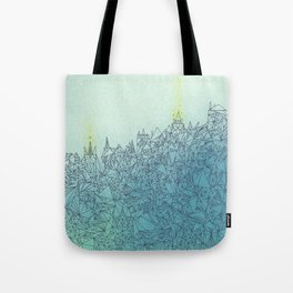 A Quiet Raft Tote Bag