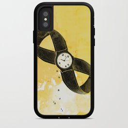 A loop in time iPhone Case