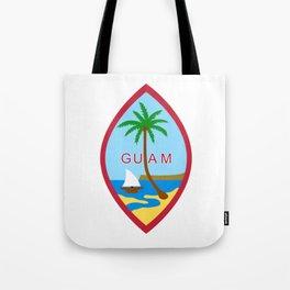 Seal of Guam Tote Bag