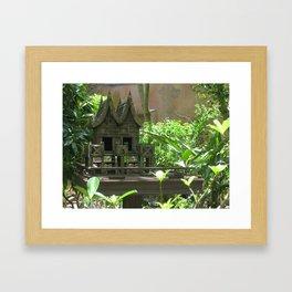 Bird Mansion Framed Art Print