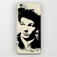 louis tomlinson iPhone & iPod Skins featuring Louis Tomlinson by Aki-anyway