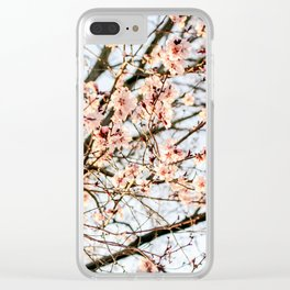 Blossom III Clear iPhone Case