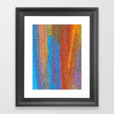 Orange Falls Framed Art Print