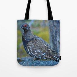 Grouse in Jasper National Park | Canada Tote Bag