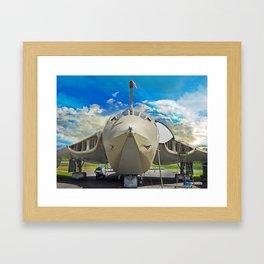 Handley-Page Victor K2 Lusty Lindy Framed Art Print