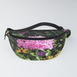 Peppermint Twist Garden Phlox in the Flower Garden Fanny Pack