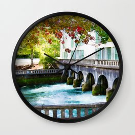Washington Power House Wall Clock