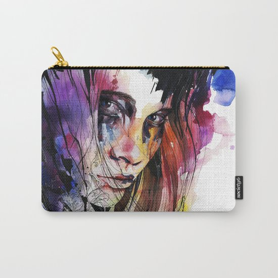 Eyes speak every language there is Carry-All Pouch