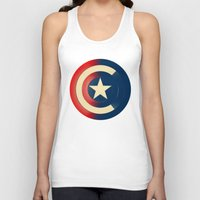 captain silva Tank Tops featuring Captain by Ian Wilding