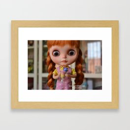 Robin - Oh! Ice cream Framed Art Print