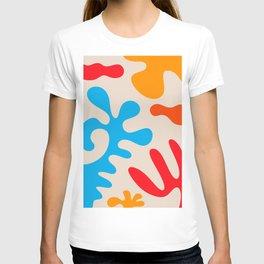 Matisse Inspired Art - art, interior, drawing, decor, design, bauhaus, abstract, decoration, home, g T-shirt