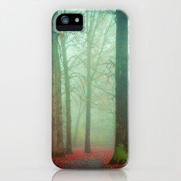 Autumn Wanderlust iPhone Case