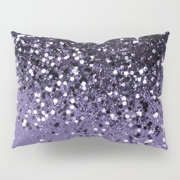 ULTRA VIOLET Glitter Dream #2 #shiny #decor #art #society6 Pillow Sham