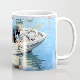 Chadding in Mounts Bay - Stanhope Alexander Forbes Coffee Mug