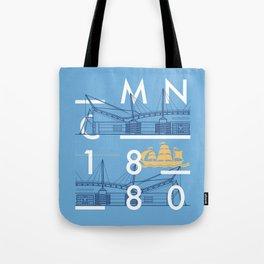 Etihad Stadium - Manchester City Tote Bag