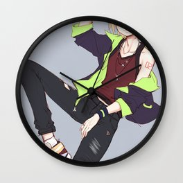 Kagamine Len Vocaloid Wall Clock