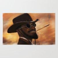 django Area & Throw Rugs featuring Django by Victoria Ripalda Tamame