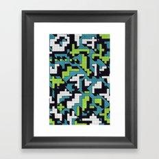 Bad at Tetris Framed Art Print