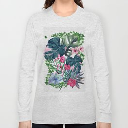 Tropical Plants Long Sleeve T-shirt