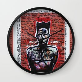 2014 AXUM MAN OF ALL TRIBES  Wall Clock