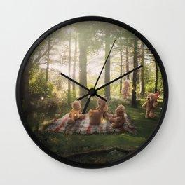 The Teddy Bear Picnic Adventure Wall Clock