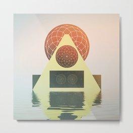 Sacred Sound Metal Print