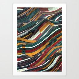 Tiles Days Art Print