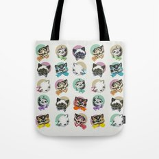 Cats & Bowties Tote Bag