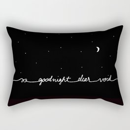 You've Got Mail- So Goodnight Dear Void Rectangular Pillow