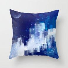 Snow City Throw Pillow