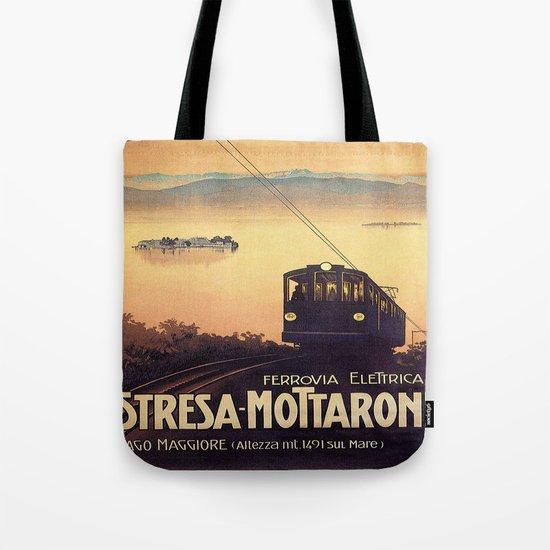 Vintage poster - Stresa-Mottarone by mosfunky