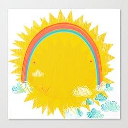 U R my Sunshine  Canvas Print