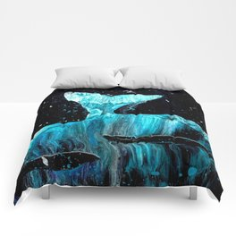 Whale of a Tail Comforters